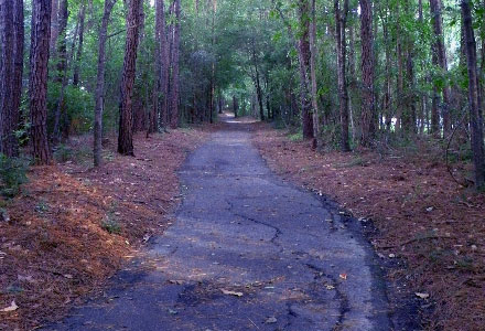 Scenic Paved Trail